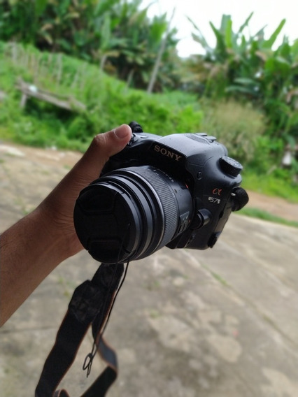 Câmera Sony Cx 57 2 Lentes + Cartão Toshiba