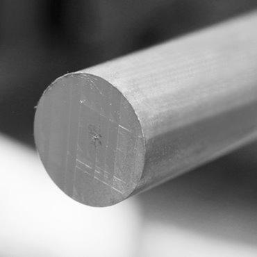 Vergalhão Redondo Maciço Aluminio 1.1/4