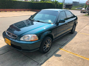 Honda Civic Lx 96 Mecanico Full Equipo Excelente