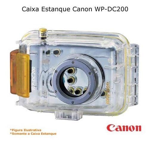 Caixa Estanque Canon Wp-dc200 P/ Digital Powershot A-10, A-2