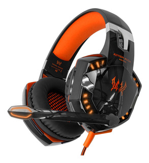 Audifonos Gamer Kotion Each G2000 Microfono Diadema Luz Led