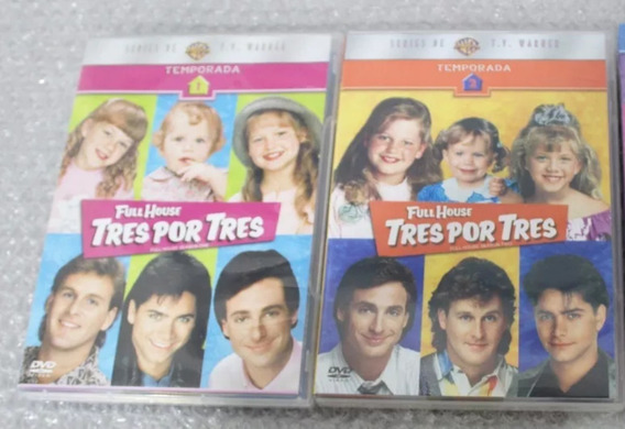 Full House (box Sets Dvd) Temporadas 1 Y 2(usadas)