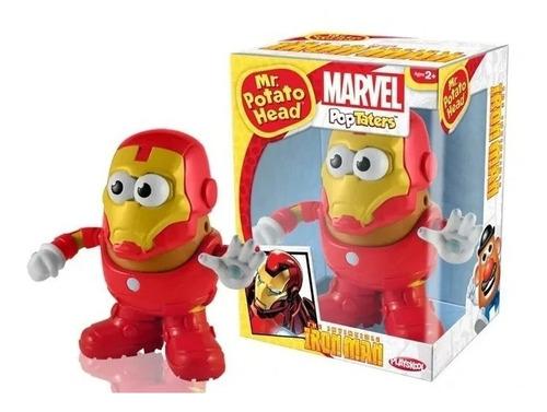 Iron Man Cabeza De Papa Marvel Pop Taters