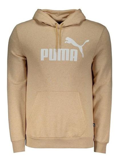 Moletom Puma Essentials Fleece Bege