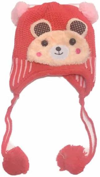 Touca Gorro Chullo Infantil Com Protetor De Orelha Inverno