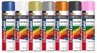 Tinta Spray Alta Temp Preto Fosco 400 Ml