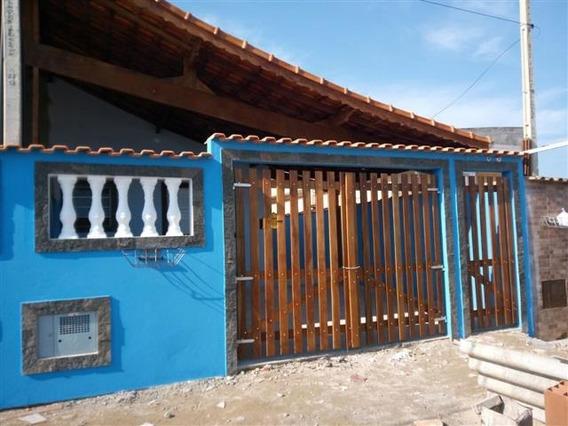 Belíssima Casa À Venda Em Mongaguá!!! Ref:5570 D
