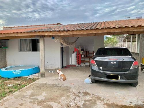 Casa À Venda, 90 M² Por R$ 240.000,00 - Cidade Balneária Nova Peruibe - Peruíbe/sp - Ca0179