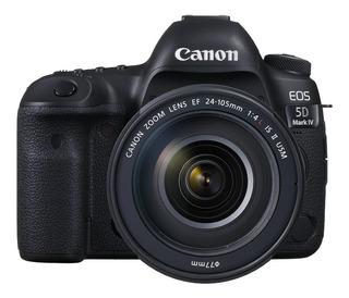 Canon EOS 5D Mark IV 24-105mm IS II USM Kit DSLR color negro
