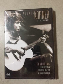 Dvd Alexis Korner And Friends Lacrado De Fábrica, Original,