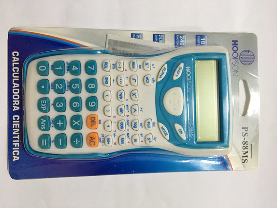 Calculadora Científica Hoopson Ps-88ms
