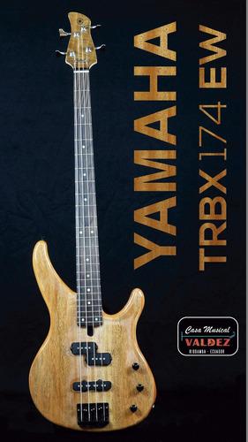 Bajo Yamaha Trbx174 Ew Bass