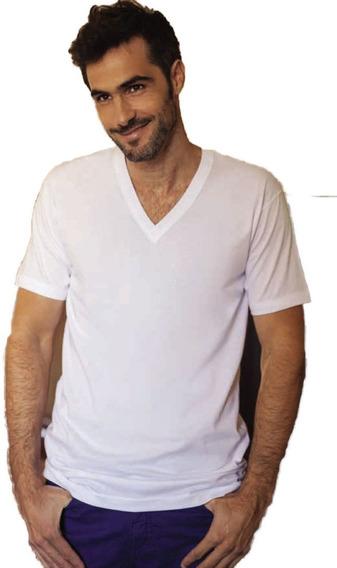 Camiseta Manga Corta Pack X3 Tres Ases 78 100% Algodón