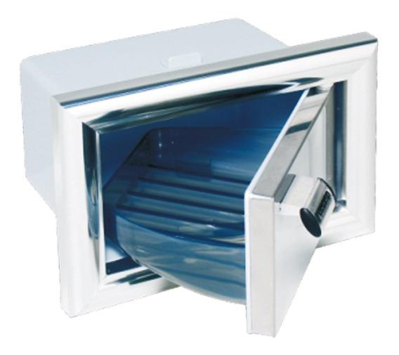 Saboneteira De Embutir Porta Em Aço E Alumínio Lb1 - Astra