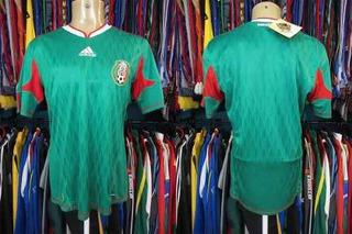 México 2010 Camisa Titular Tamanho M.