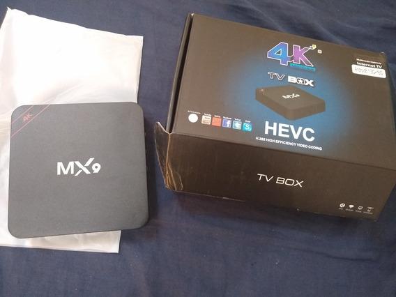 Tv Box Hdmi Wi-fi 4k Com Mac No Aparelho ,pede Listas