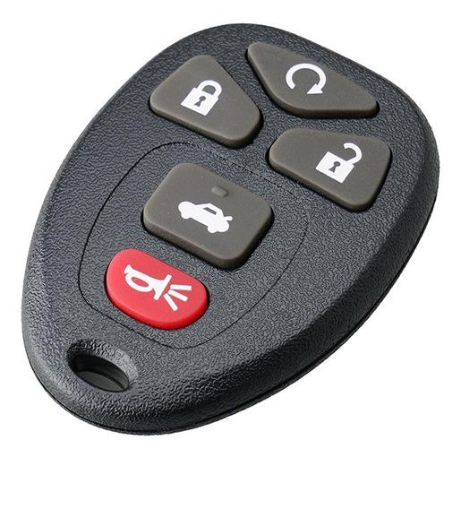 Nova Pad + Botão Para Gm Key Key Keyless Shell Fob Case