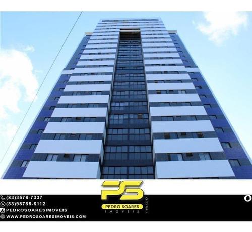 Apartamento Com 3 Dormitórios À Venda, 71 M² Por R$ 385.560 - Miramar - João Pessoa/pb - Ap4899