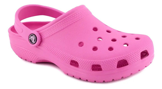 Crocs Classic Mujer Sandalias Originales Candy Pink Crocband
