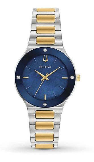 Relógio Feminino Cronógrafo Bulova Millennia 98r273