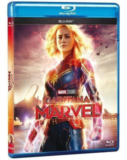 Capitana Marvel Blu-ray Nuevo Original En Stock