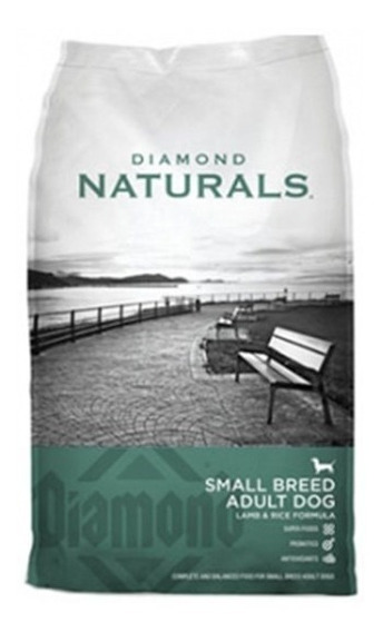Diamond Naturals Small Breed Adult Lamb & Rice 18 Lbs/ 8 Kg.