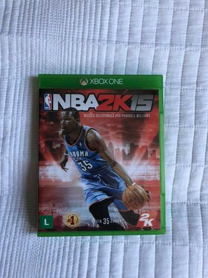 Nba 2k15 Original Para Xbox One Mídia Física