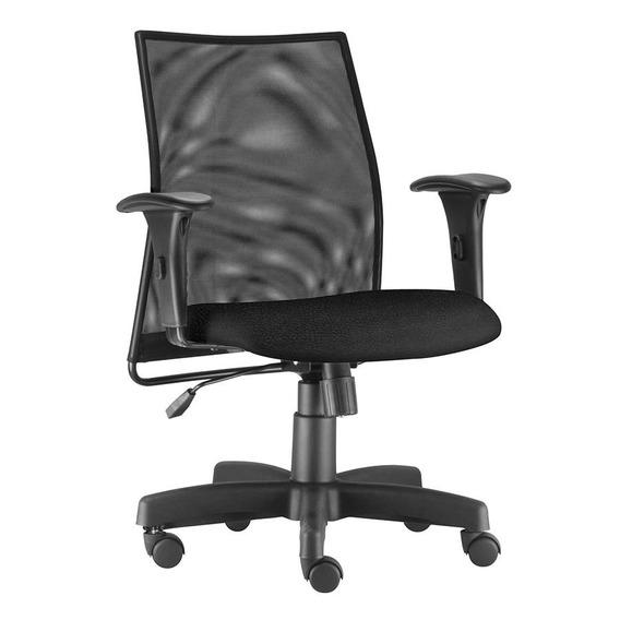 Cadeira Escritório Diretor Bali Preta