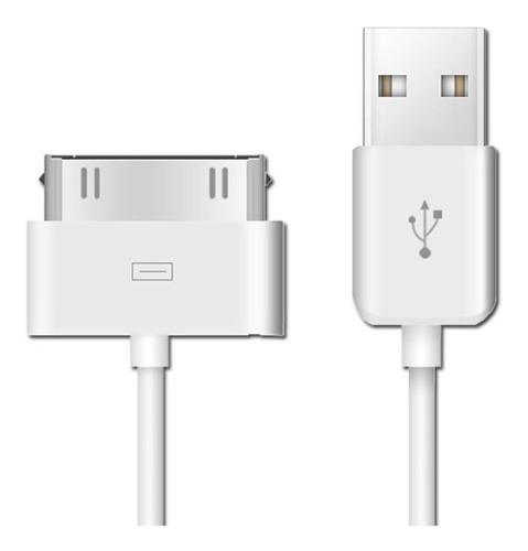 Cable Datos Usb iPad 1m Carga Apple iPhone 3gs 4 4s 4g iPod