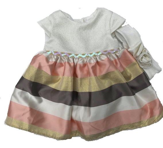 Vestido Fiesta Nena Colores Razo