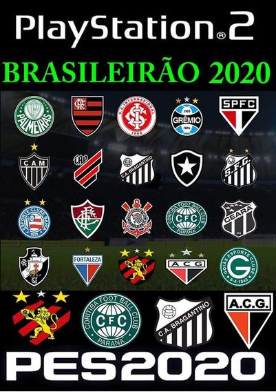 Pes 2020 Brasileirao E Libertadores , Jogos Ps2, Atualizado