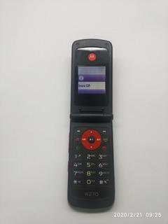 Celular Motorola W270 Funcionando Perfeitamente (vivo)