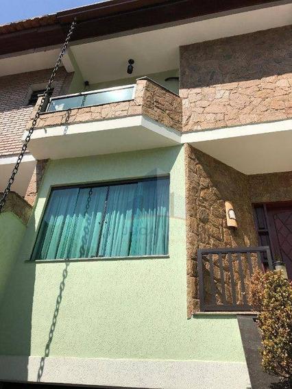 Sobrado Com 4 Dormitórios À Venda, 270 M² Por R$ 890.000 - Vila Curuçá - Santo André/sp - So0060