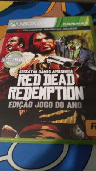 Red Dead Redemption Goty Midia Fisica