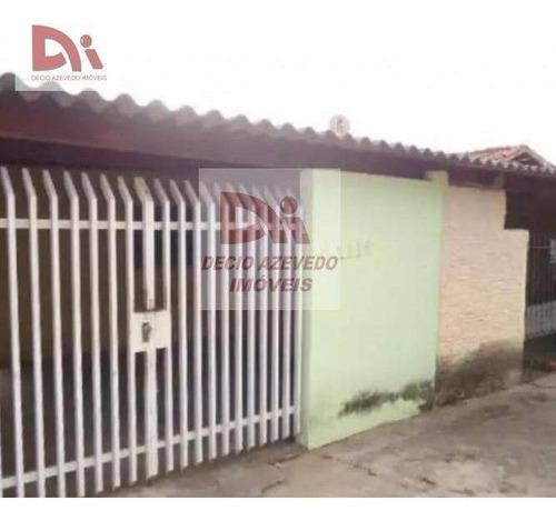 Casa Com 2 Dormitórios À Venda Por R$ 340.000,00 - Jardim Bela Vista - Taubaté/sp - Ca0049