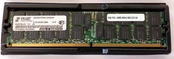 Memória Ram Smart 2gb Ddr2 667mhz Ecc Cl5 Sg2567rdr212452na