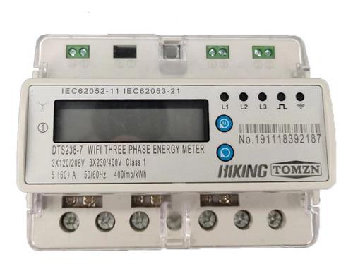 Imagen 1 de 2 de Medidor Trifásico Eléctrico Luz Energía Cfe Wifi Paneles