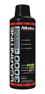 L-carnitine 3000 + Chromium - 480ml - Atlhetica Nutrition