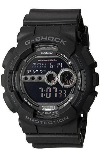 Reloj Casio G-shock Gd100-1bcr X Gran Digital Deportivo N