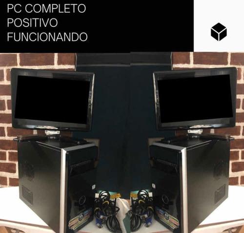 Computador Positivo Completo Funcionando (ler Desc)