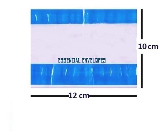 Saco Plástico Canguru P/ Notas Fiscais 10x12 (2cola)2000 Ud