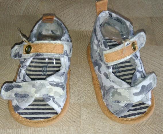 Sandália Militar De Algodão Para Bebês