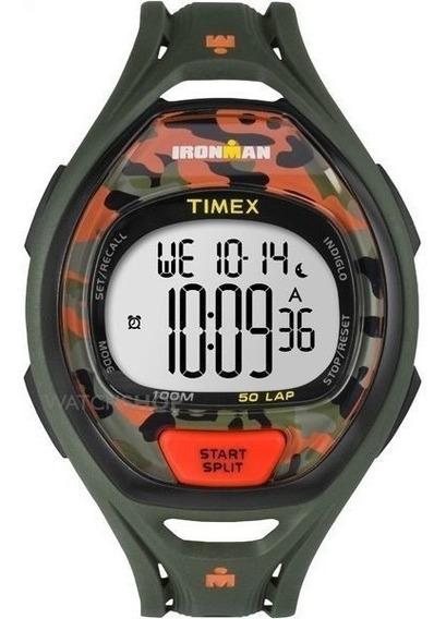 Relógio Ironman Camuflado Timex Tw5m01200