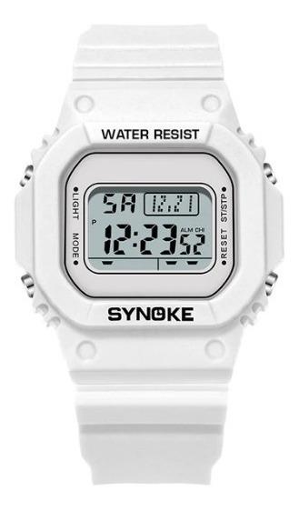 Relógio Digital Quadrado Led