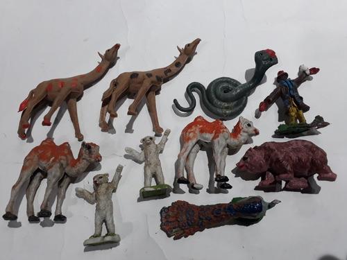 Simil Britains 1/32 Lote X 10 Animales De La Selva  Plastico