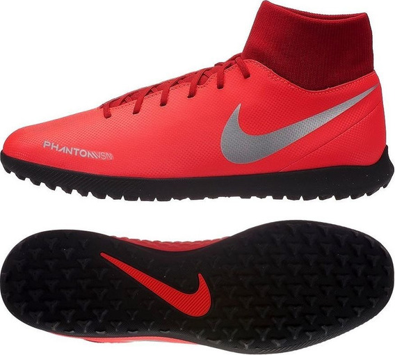 Tenis Para Futbol Rápido Tobillera Nike Phantom Vsn Club.