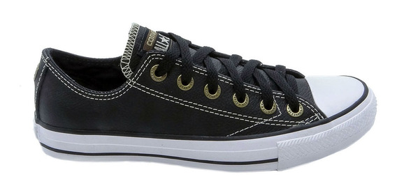 Tênis Converse All Star Ct As European Ox Preto Ct0020000338