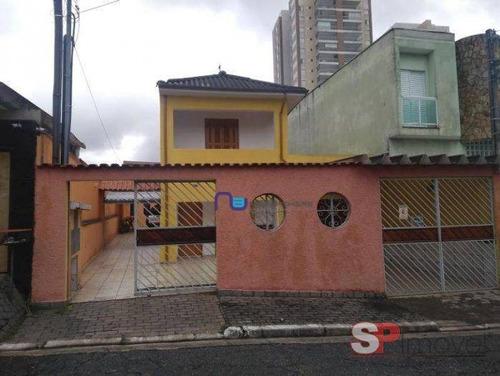 Imagem 1 de 11 de Ótima Casa Comercial 350m² 3.000 Chácara Mafalda - Ca0659