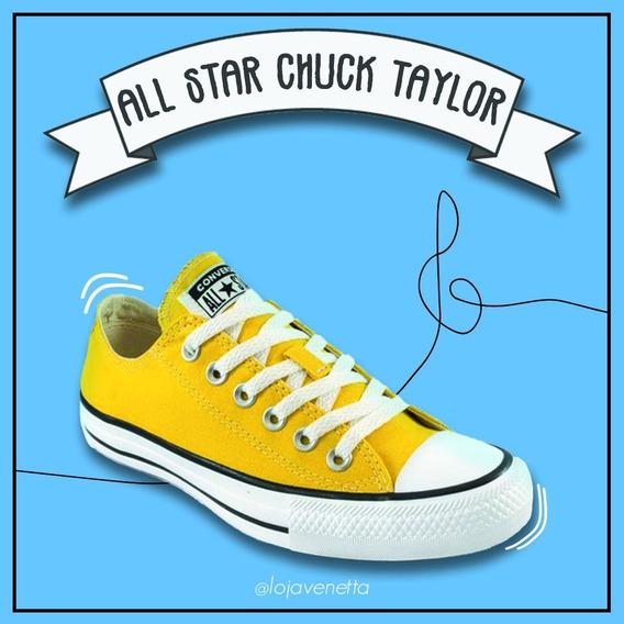 All Star Chuck Taylor Amarelo - Converse
