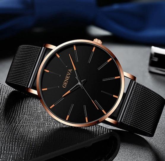 Relógio Feminino Quartzo Pulseira De Luxo